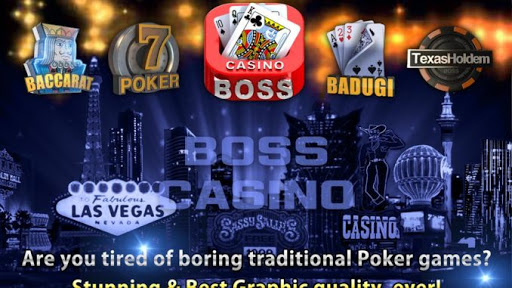 Cara Main Game Boss Casino Poker Baccarat